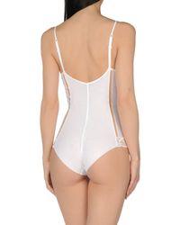 La Perla - White Bodysuit - Lyst