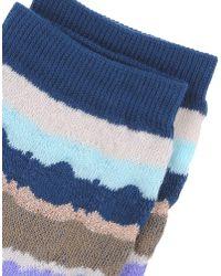 Missoni - Blue Socks for Men - Lyst