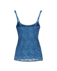 Cosabella - Blue Sleeveless Undershirt - Lyst