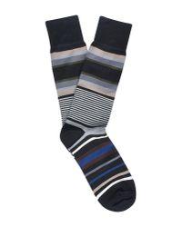 Paul Smith - Black Short Socks for Men - Lyst