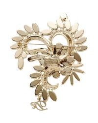 DSquared² - White Brooch - Lyst