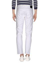 Paolo Pecora | White Denim Pants for Men | Lyst