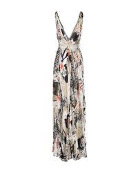 Donna Karan - White Long Dress - Lyst