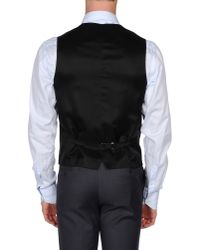 Dolce & Gabbana - Gray Waistcoat for Men - Lyst
