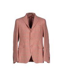 Tagliatore - Red Blazer for Men - Lyst