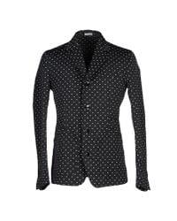 Dolce & Gabbana - Black Polka Dot Blazer for Men - Lyst