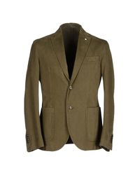 L.b.m. 1911 - Green Blazer for Men - Lyst
