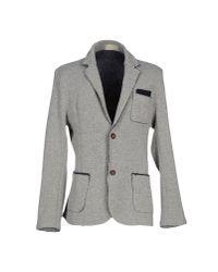 Athletic Vintage - Gray Blazer - Lyst