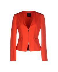 Pinko - Orange Blazer - Lyst