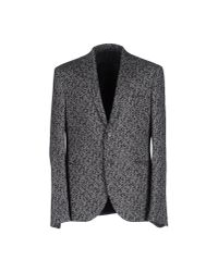 Neil Barrett - Gray Blazer for Men - Lyst