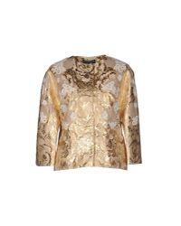 Dolce & Gabbana - Natural Blazer - Lyst