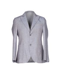 Barbati - Blue Blazer for Men - Lyst