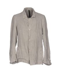 Poeme Bohemien | Gray Blazer for Men | Lyst