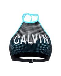 Calvin Klein | Blue Bikini Top | Lyst
