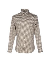 Etro - Natural Shirt for Men - Lyst