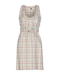 Doralice - Multicolor Short Dress - Lyst