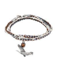 Lanvin Armband in White für Herren