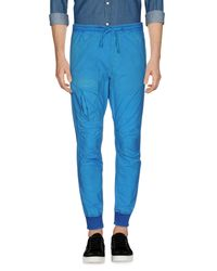 Paura - Blue Casual Trouser for Men - Lyst