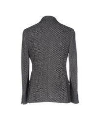 Mp Massimo Piombo - Gray Blazer for Men - Lyst