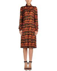 Roberta Di Camerino - Red Knee-length Dress - Lyst