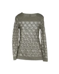 M Missoni - Gray Sweater - Lyst