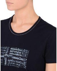 Napapijri - Blue T-shirt - Lyst