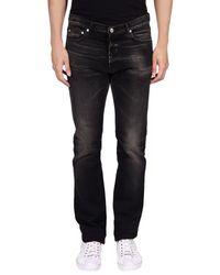 Golden Goose Deluxe Brand Black Denim Pants for men