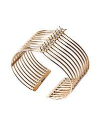 PAOLA GRANDE - Metallic Bracelet - Lyst