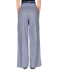 Stefanel - Blue Casual Trouser - Lyst