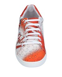 Moschino | Orange Low-tops & Sneakers for Men | Lyst