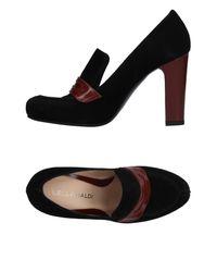 Lella Baldi - Black Loafer - Lyst