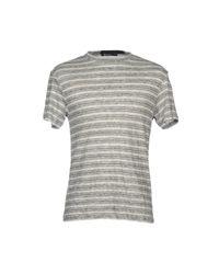 alexanderwang.t Gray T-shirt for men