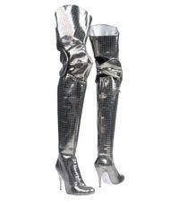 Vivienne Westwood - Metallic Boots - Lyst
