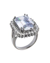 CZ by Kenneth Jay Lane | Multicolor Ring | Lyst