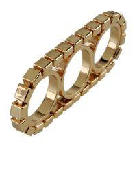 Gogo Philip | Metallic Ring | Lyst
