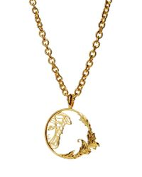 Versace - Metallic Necklace - Lyst