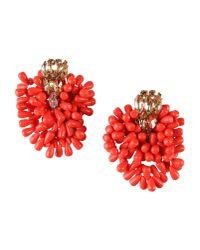 DSquared² | Orange Earrings | Lyst