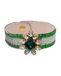 Shourouk - Green Bracelet - Lyst