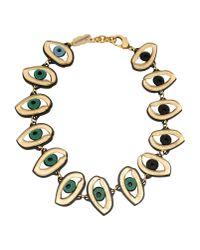 Patricia Nicolas | Green Necklace | Lyst