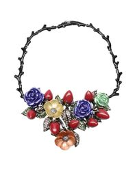 Roberto Cavalli - Black Necklace - Lyst