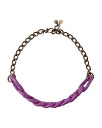 Malababa | Purple Necklace | Lyst