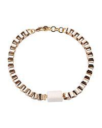 Malababa - Metallic Necklace - Lyst