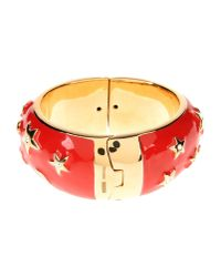 Moschino | Red Bracelet | Lyst