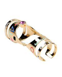 Maria Francesca Pepe - Metallic Ring - Lyst