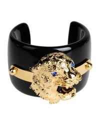 Class Roberto Cavalli | Black Bracelet | Lyst