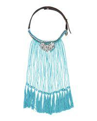 P.A.R.O.S.H.   Blue Necklace   Lyst