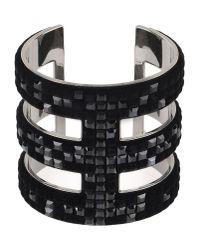 Atelier Swarovski | Black Bracelet | Lyst