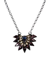Deepa Gurnani - Purple Necklace - Lyst