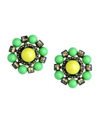 Lanvin | Green Earrings | Lyst