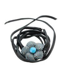 Halaby   Black Bracelet   Lyst